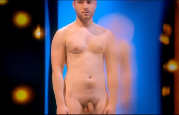men Full frontal naked