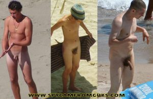 nudist-guys-dicks-caught-beach