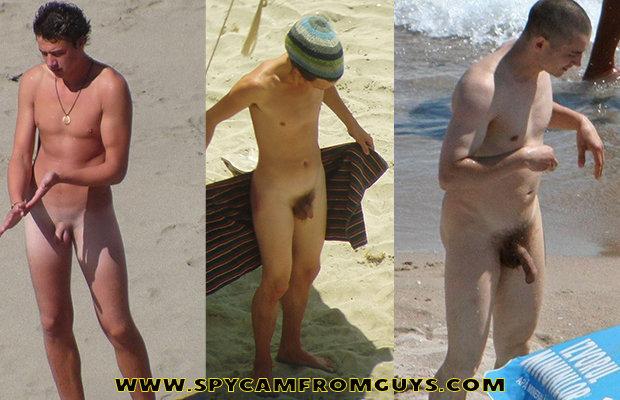 nudist-guys-dicks-caught-beach