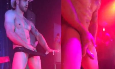male dancer naked with hard dick