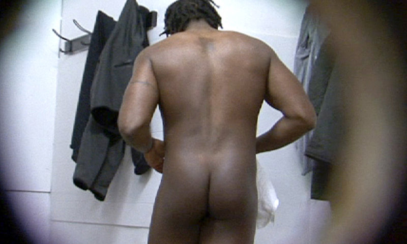 black guy naked locker room