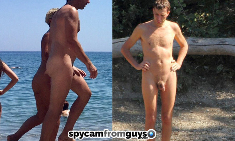 straight nudist men busted