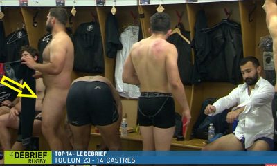 Rugby players naked at the locker room - My Own