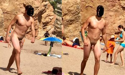 nudist guy with hairy dick
