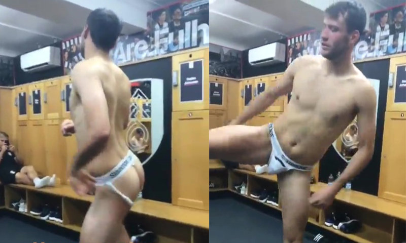 footballer marcu bettinelli naked locker room