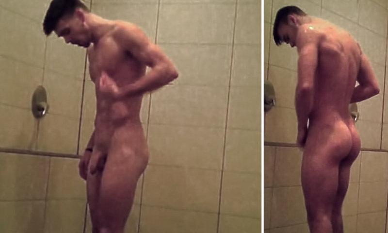 Spy gay shower Major League