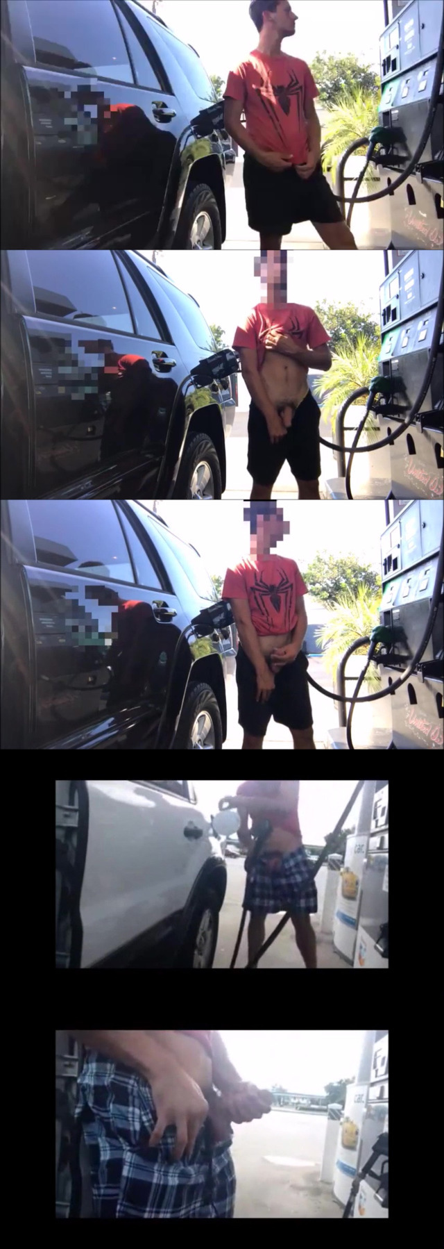 horny guys wanking at the gas station | | spycamfromguys, hidden