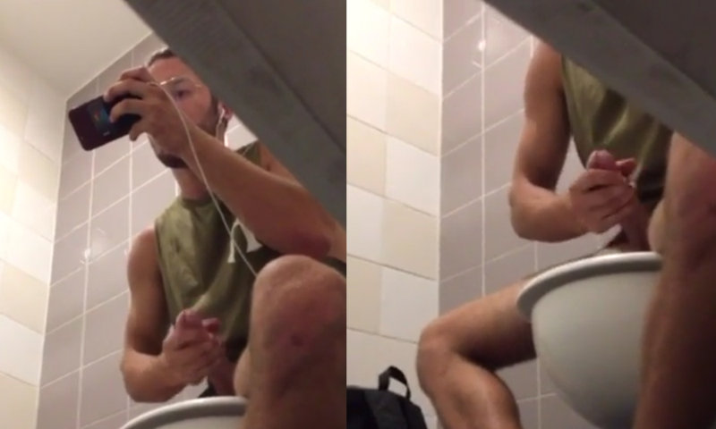 Thank for urinal voyeur jerk video have