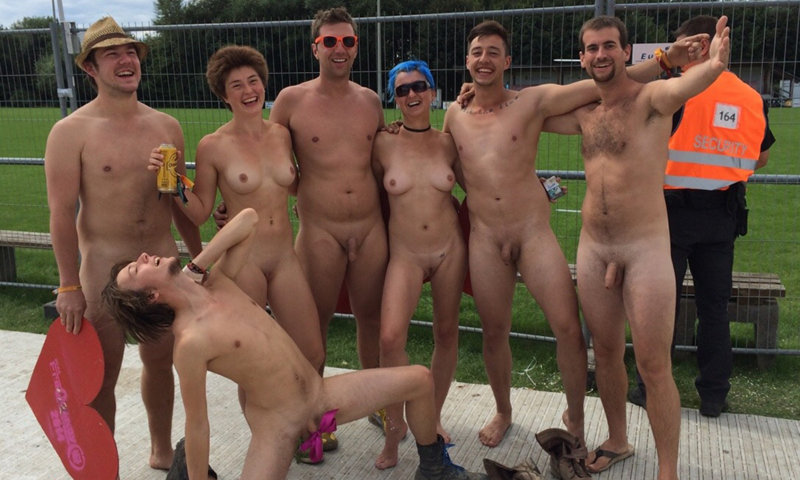 Male group Straight nude
