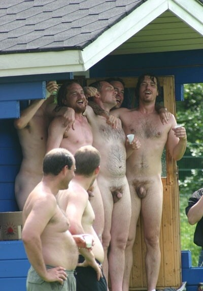 fully normal naked guys