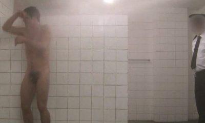 Young women smoking nude