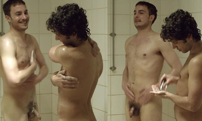 Male actors full frontal naked in dressing room scenes