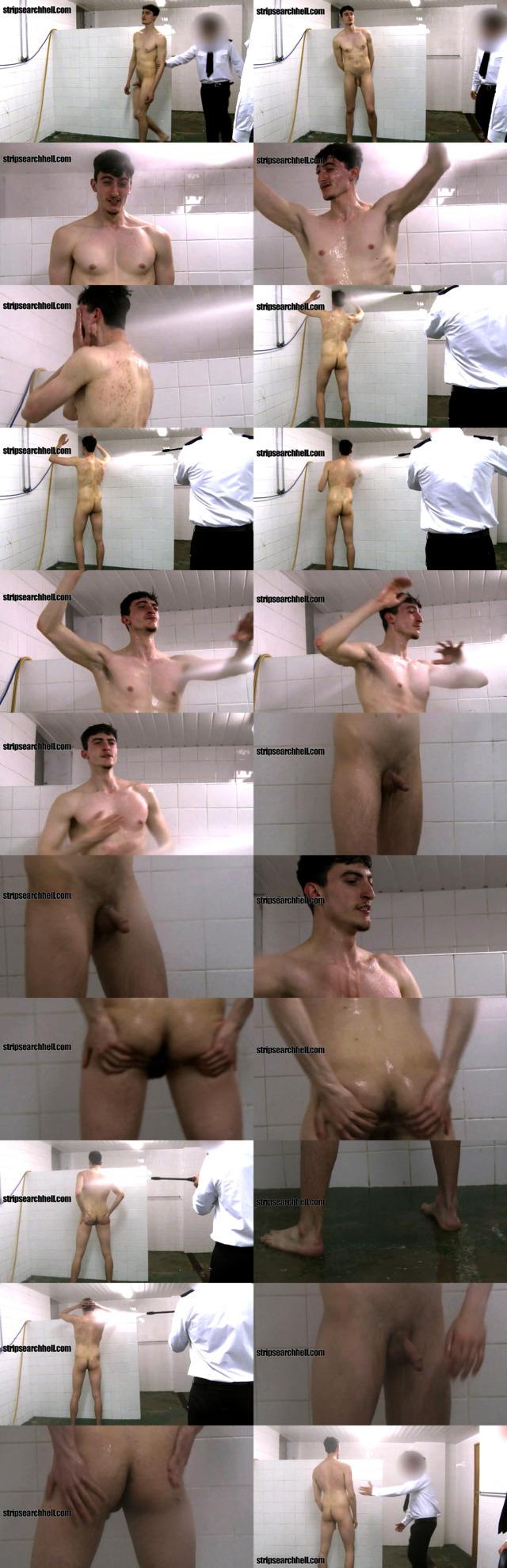 prisoner shower after strip search