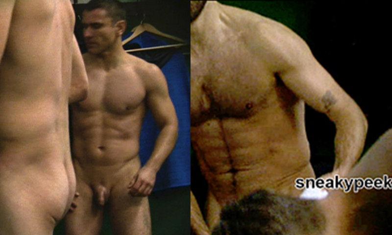 footballers caught naked locker room spycam