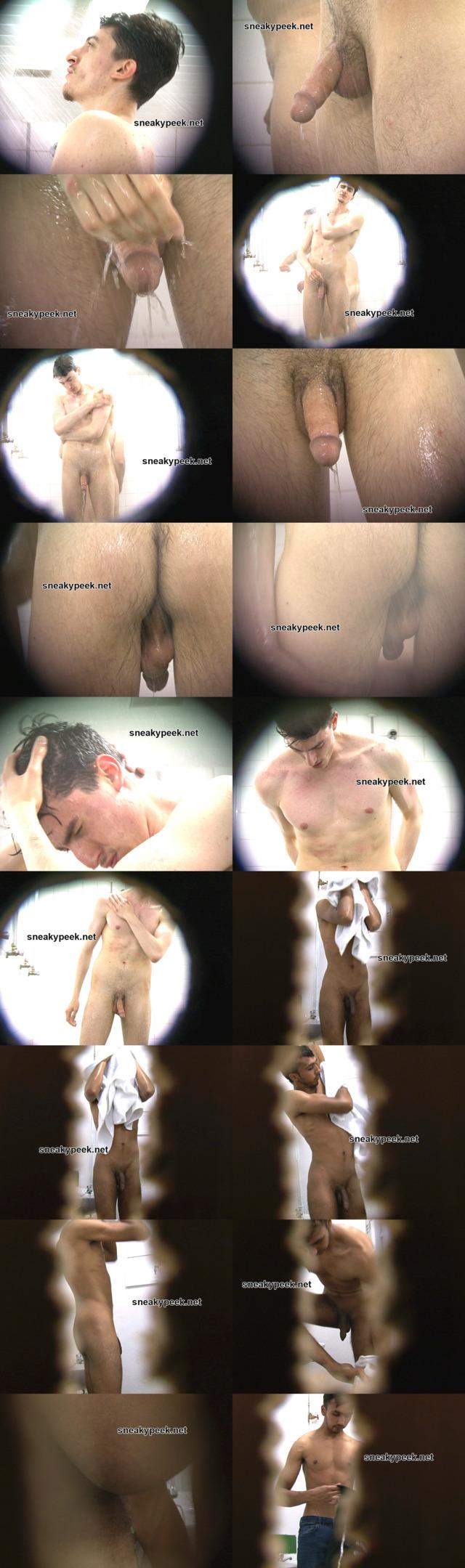 straight guy caught naked shower locker room