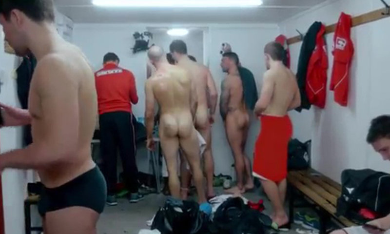 rugby players saltford city naked lockerroom