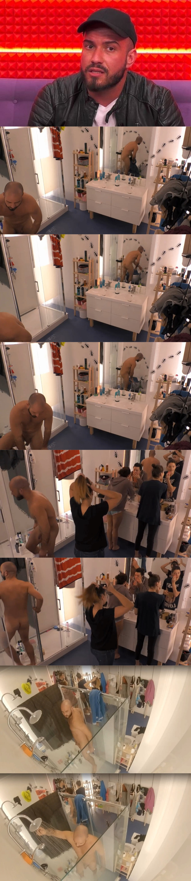maciej big brother naked in shower