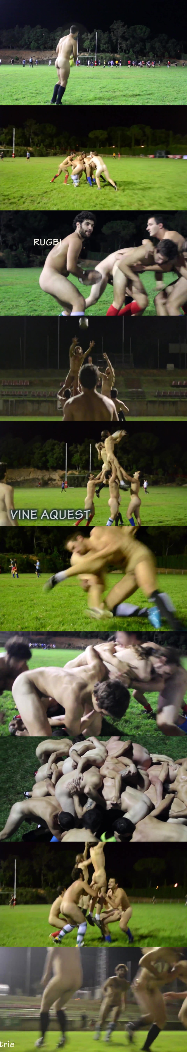 naked rugby match