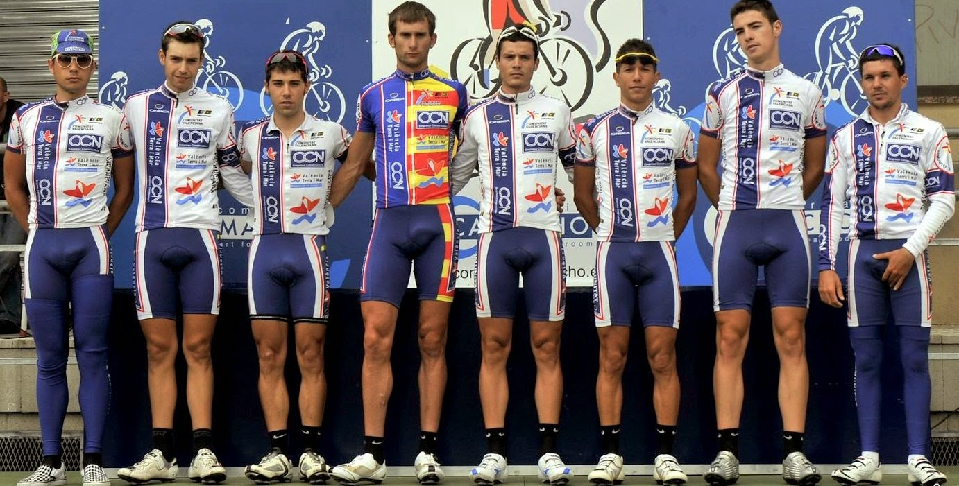 bikers with spandex singlets big cock bulges