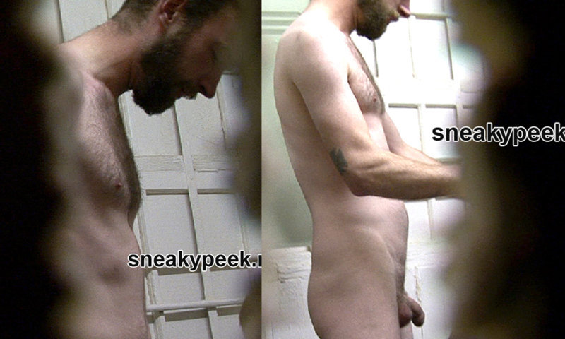 worker caught undressing in locker room