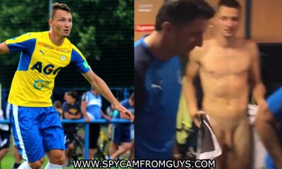 footballer Michal Jerabek naked
