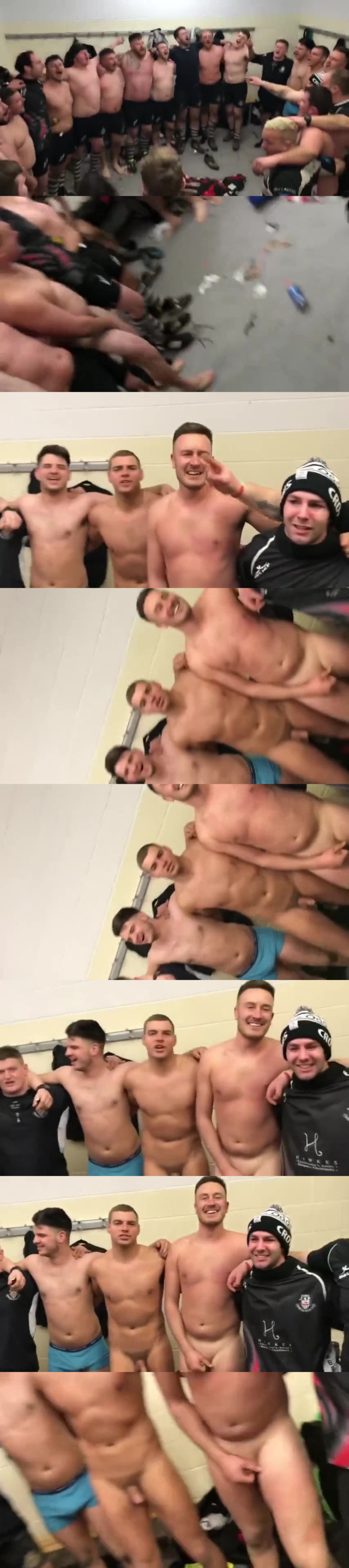 ruggers naked in the locker room