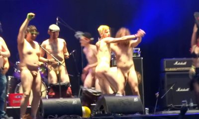 Stage naked male on Art of