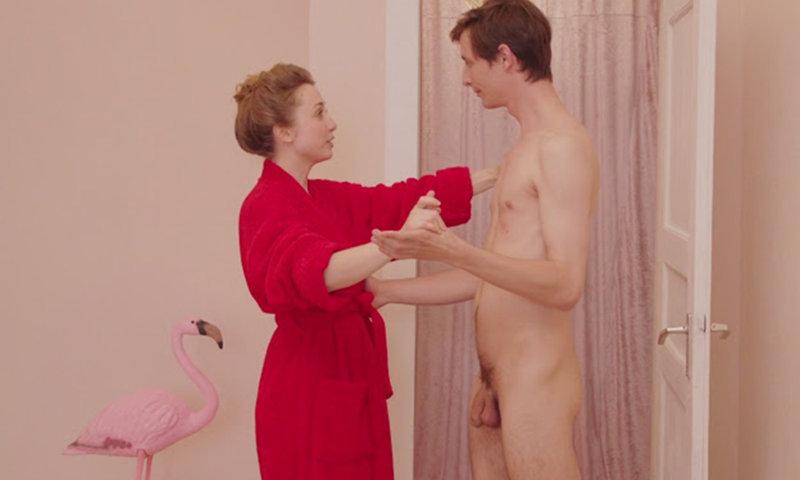 actor Malte Bündgen full frontal naked