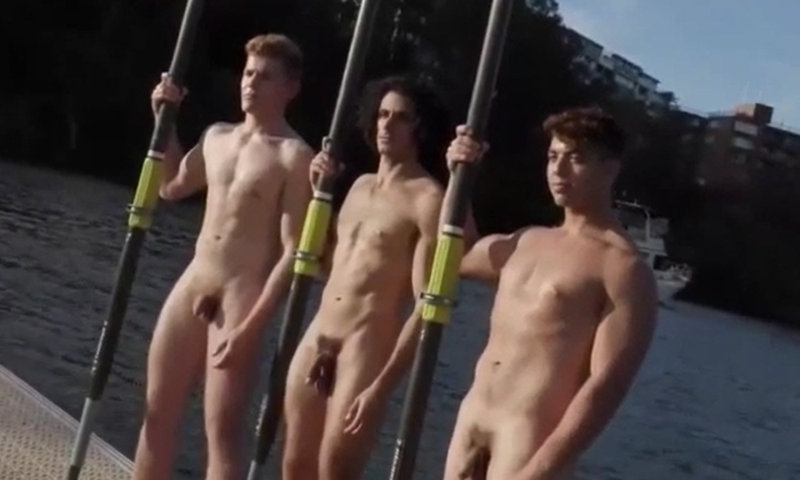 athletes making a nude calendar