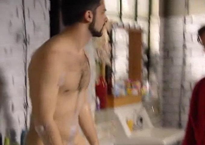 Volkan Isbert naked in movie