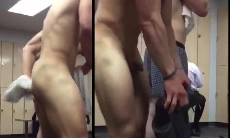 jock naked in locker room