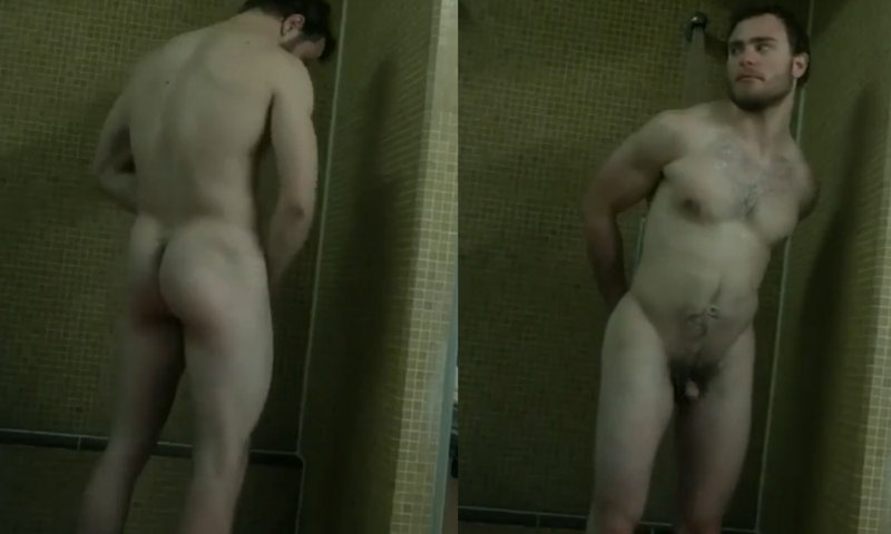 small dick stud caught in shower