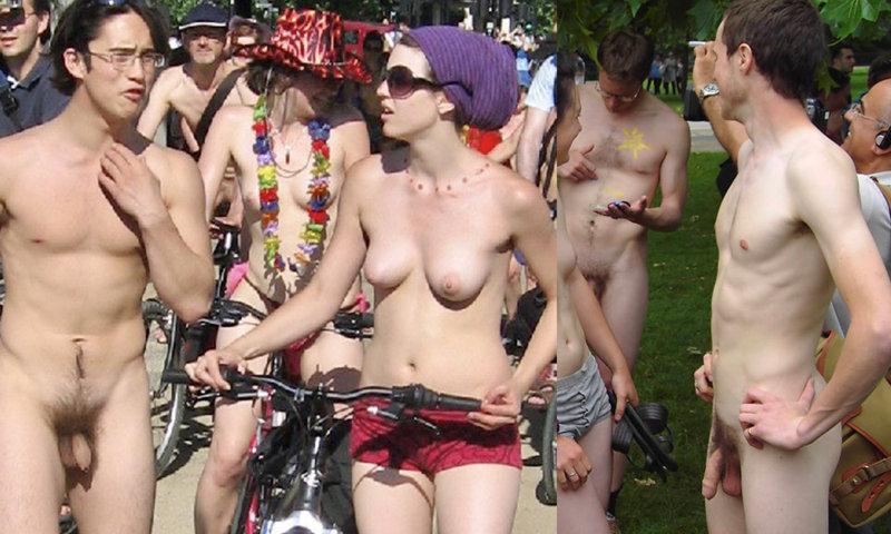 uncut naked guys in public wnbr