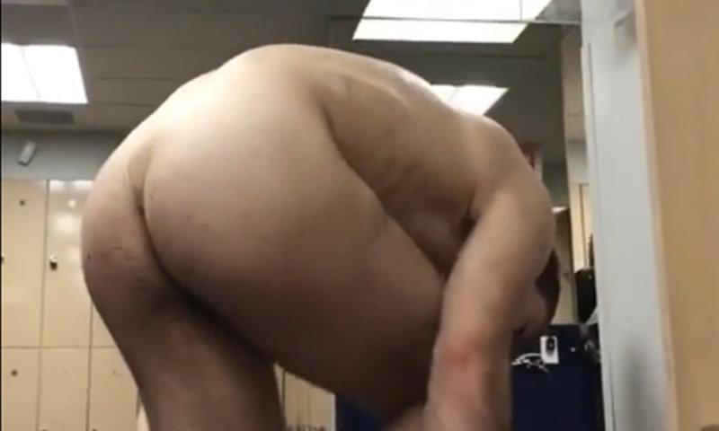 guy caught undressing in locker room