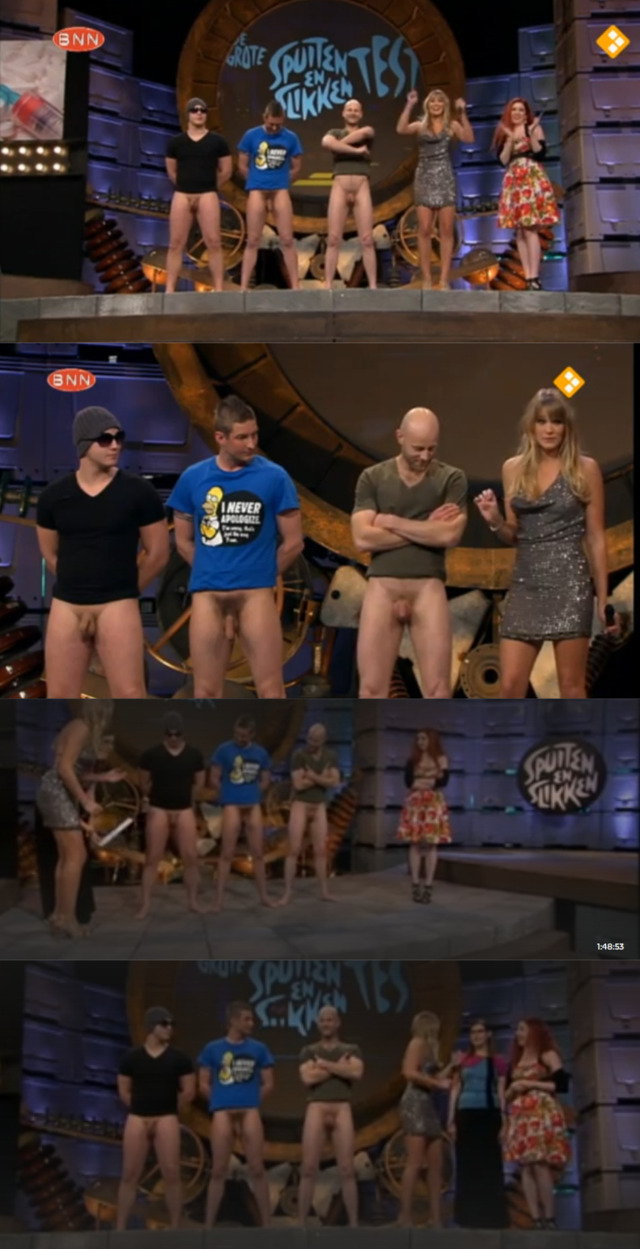 guys naked full frontal dutch tv show