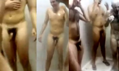 italian footballers naked in communal shower