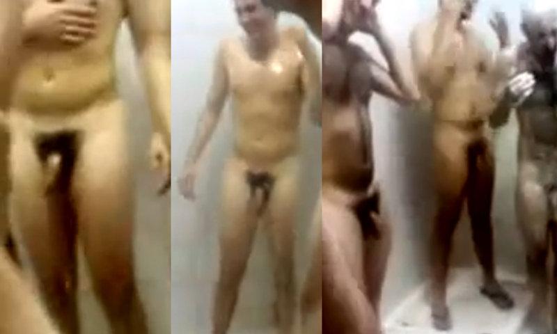 italian footballers naked in communal shower