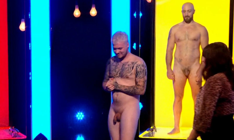straight guys naked on tv naked attraction