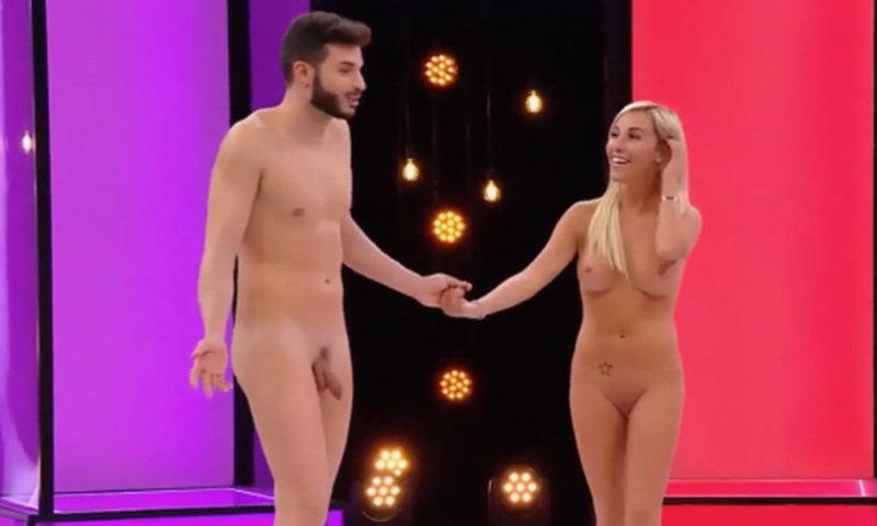 italian straight guy full frontal naked tv show