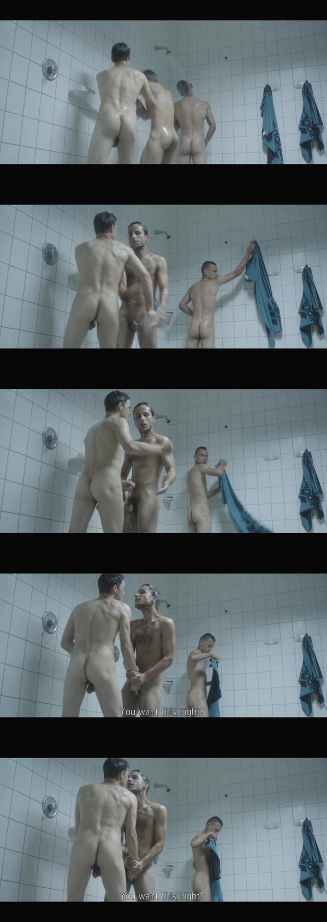 Land of Storms naked shower scene male actors