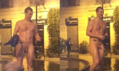 naked guy in public