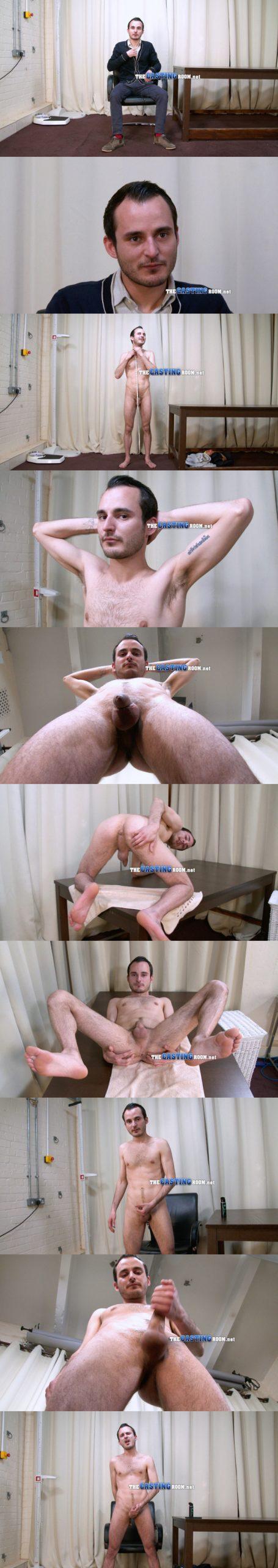 straight guy brett naked audition the casting room