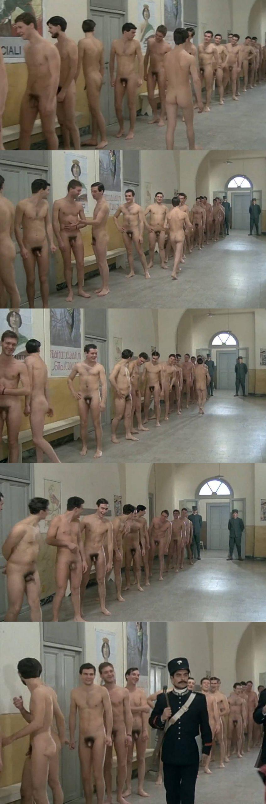 italian male actors full frontal naked in movie scene