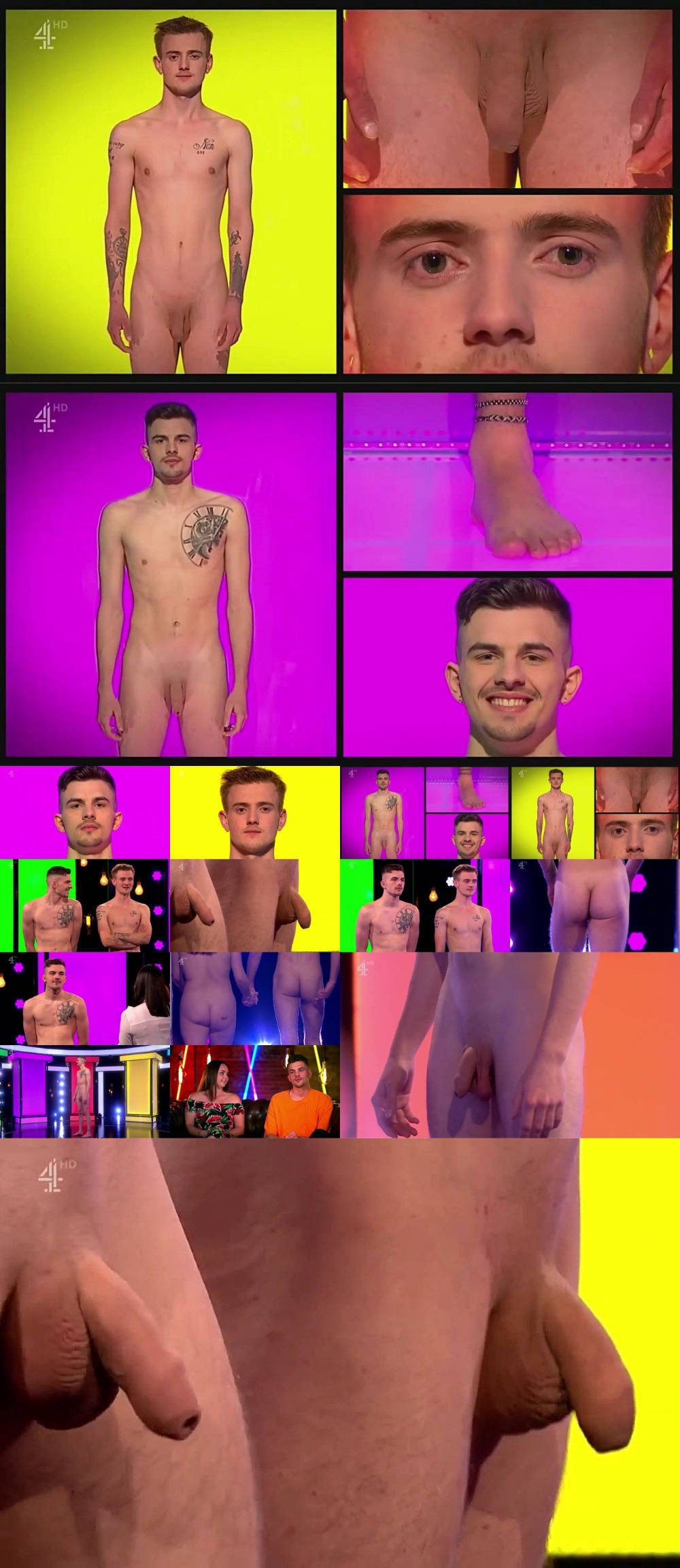 two danish guys naked on tv dating show