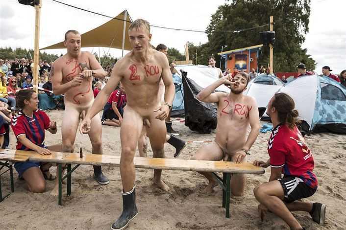 naked danish guys in public