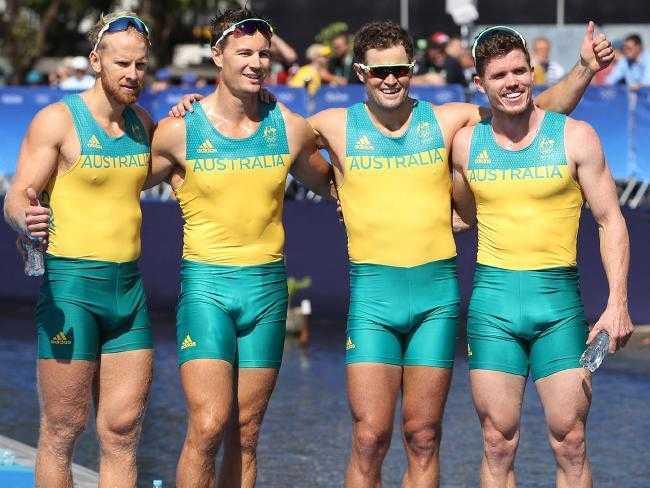 australian sportsmen with big bulges