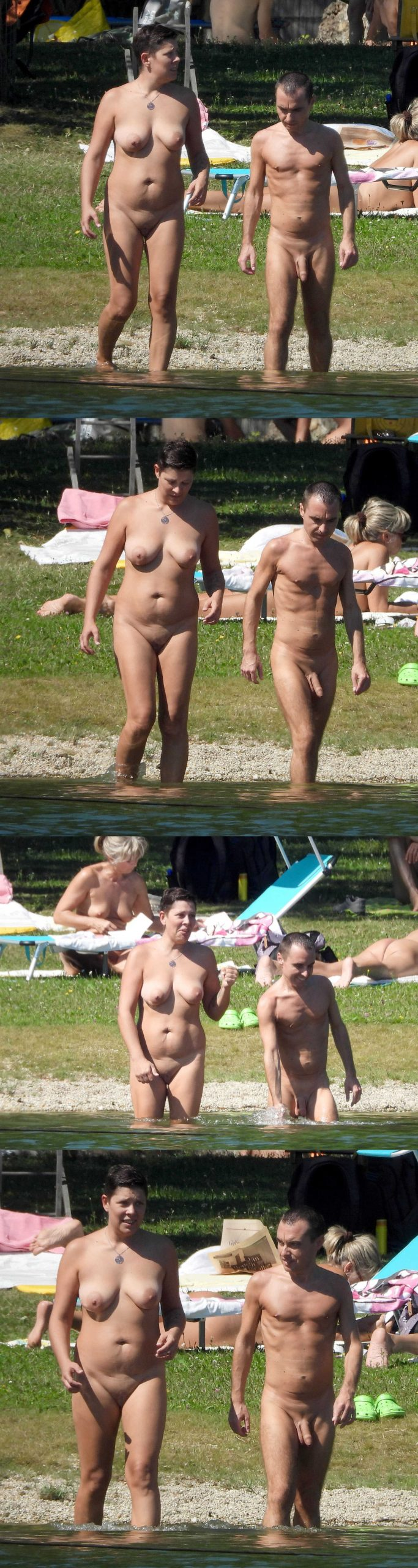 hung married nudist man caught by hidden camera