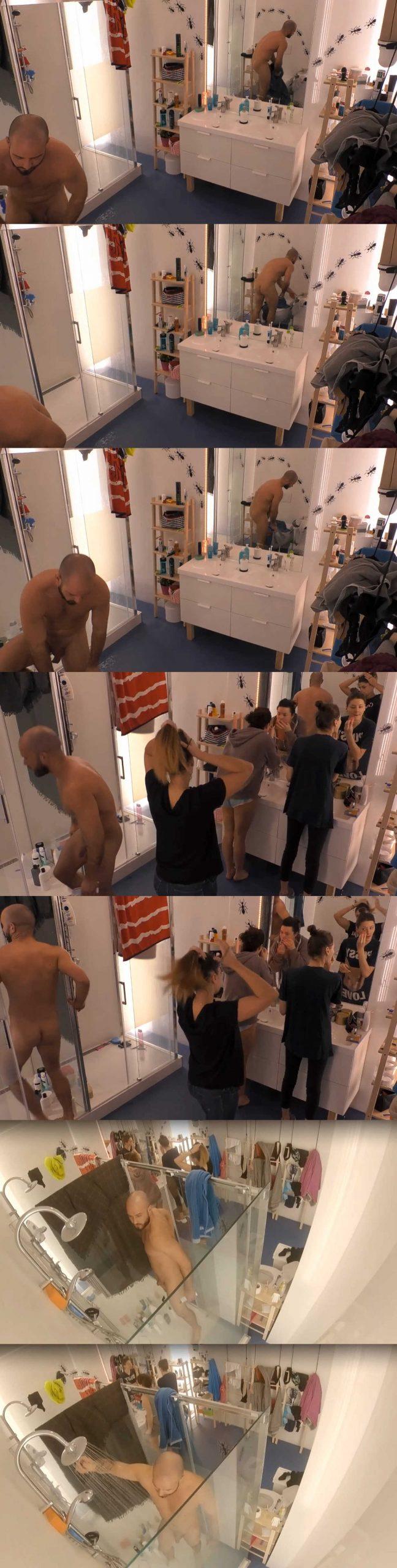 Maciej naked in polish big brother