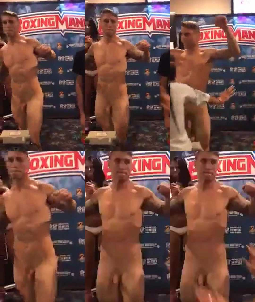 boxer kerry foley naked weigh in