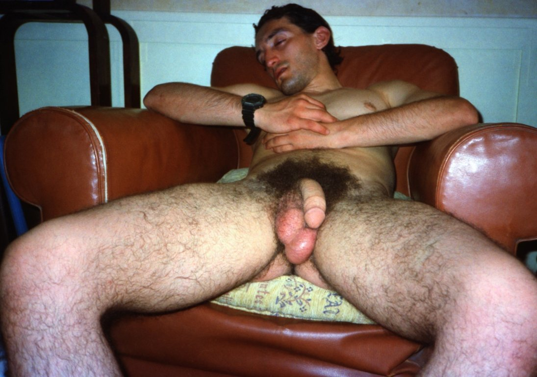 big hairy naked straight men